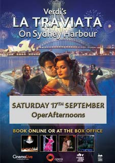 LA TRAVIATA from Sydney Harbour (OperAfternoons Season) (FLS)
